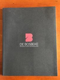 corporate brochure voor De Bosbeke