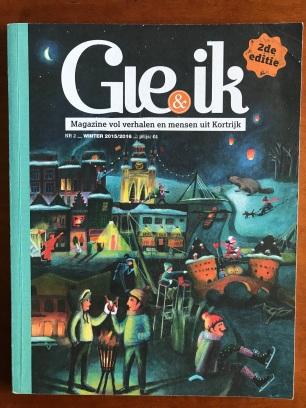copy voor Kortrijks magazine Gie&Ik